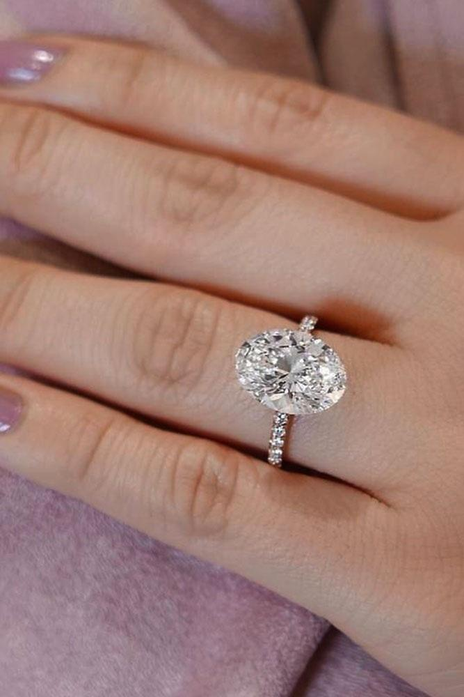 24 Oval Engagement Rings That Every Girl Dreams Oh So Perfect Proposal