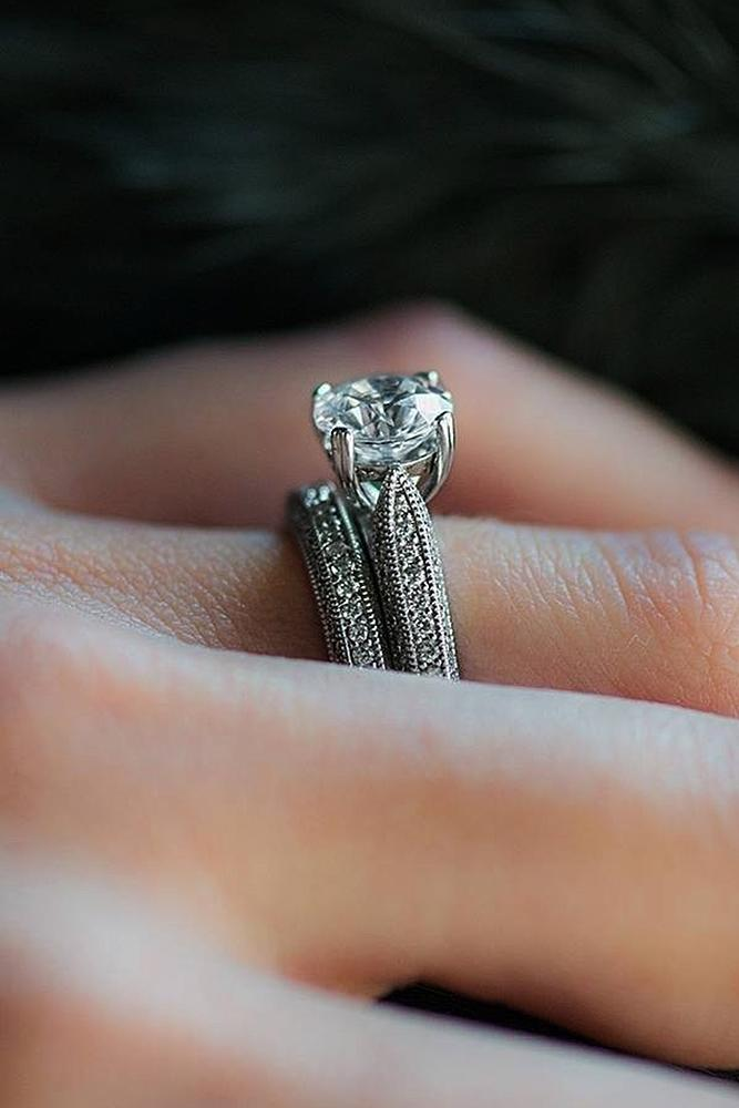 18 Beautiful Wedding Ring Sets For Your Girl Oh So Perfect Proposal