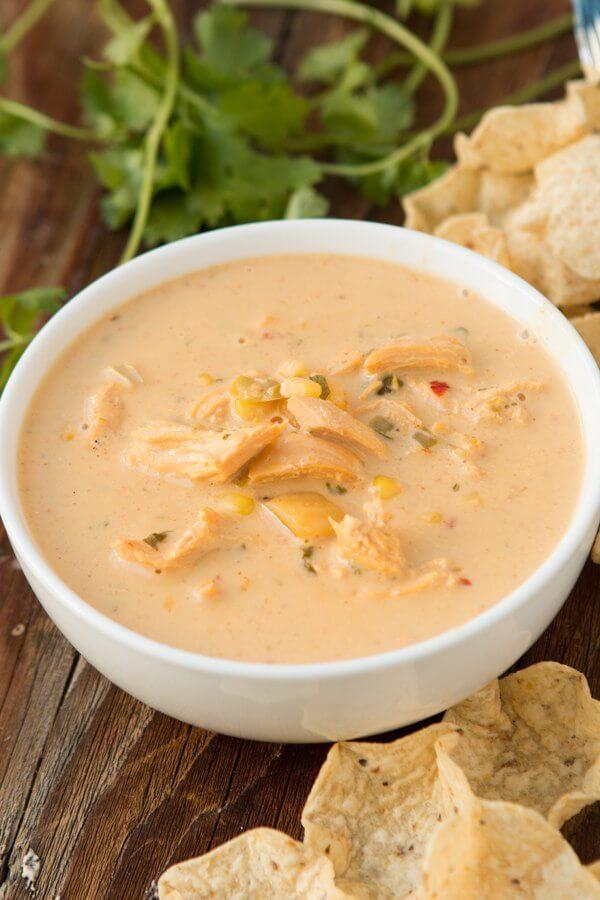 Cheesy Tortilla Soup Chicken Recipe