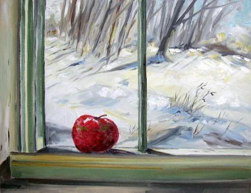 Oil Paintings Winter Snow Oil Paintings Online Shop