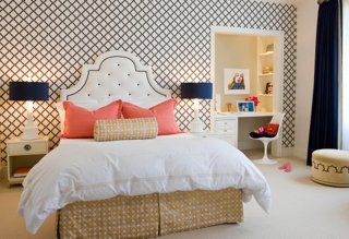 White Bedding Ideas Interior by Massucco Warner Miller