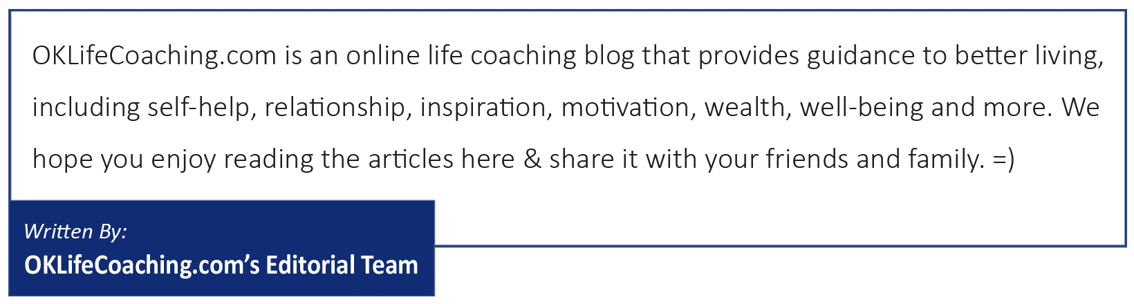 Written By: OKLifeCoaching's Editorial Team