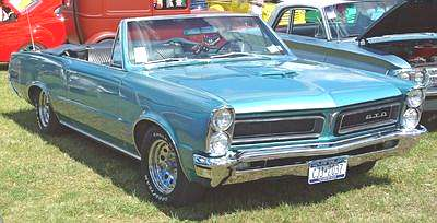 A Picture Review of the Pontiac from 1960 to 1977 1965 Pontiac GTO Convertible