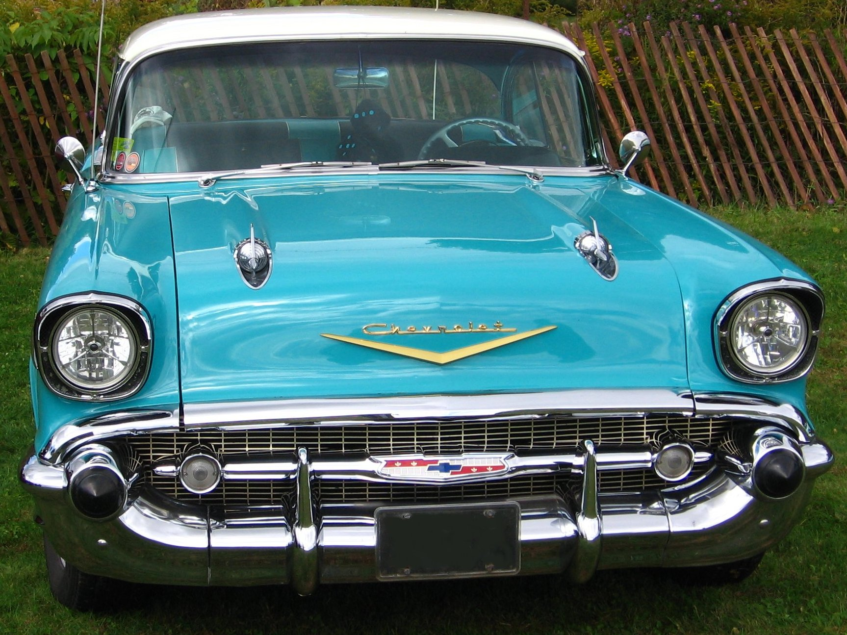 Old Cars Guide  1957 Chevrolet 1957 Chevrolet Grill