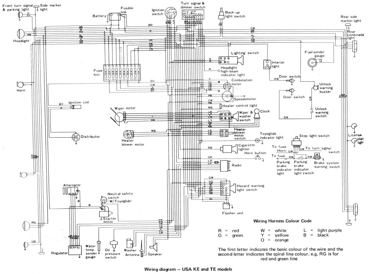 2000 Toyota Tacoma Side Mirror Wiring Diagram