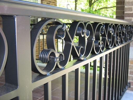 Aluminum Railings Old Dutchman S Wrought Iron Inc | Aluminum Railings For Front Steps | Budget Porch | Concrete | Construction | Wood | Modern