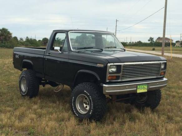 1985 Lifted F150 4x4 Cape Coral Fl Oldfordtruck