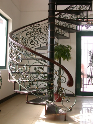 Spiral Stairs Architectural Stairs Spiral Staircase | Round Stairs Railing Design | Metal | Silver | Loft | Stainless Steel | Brown