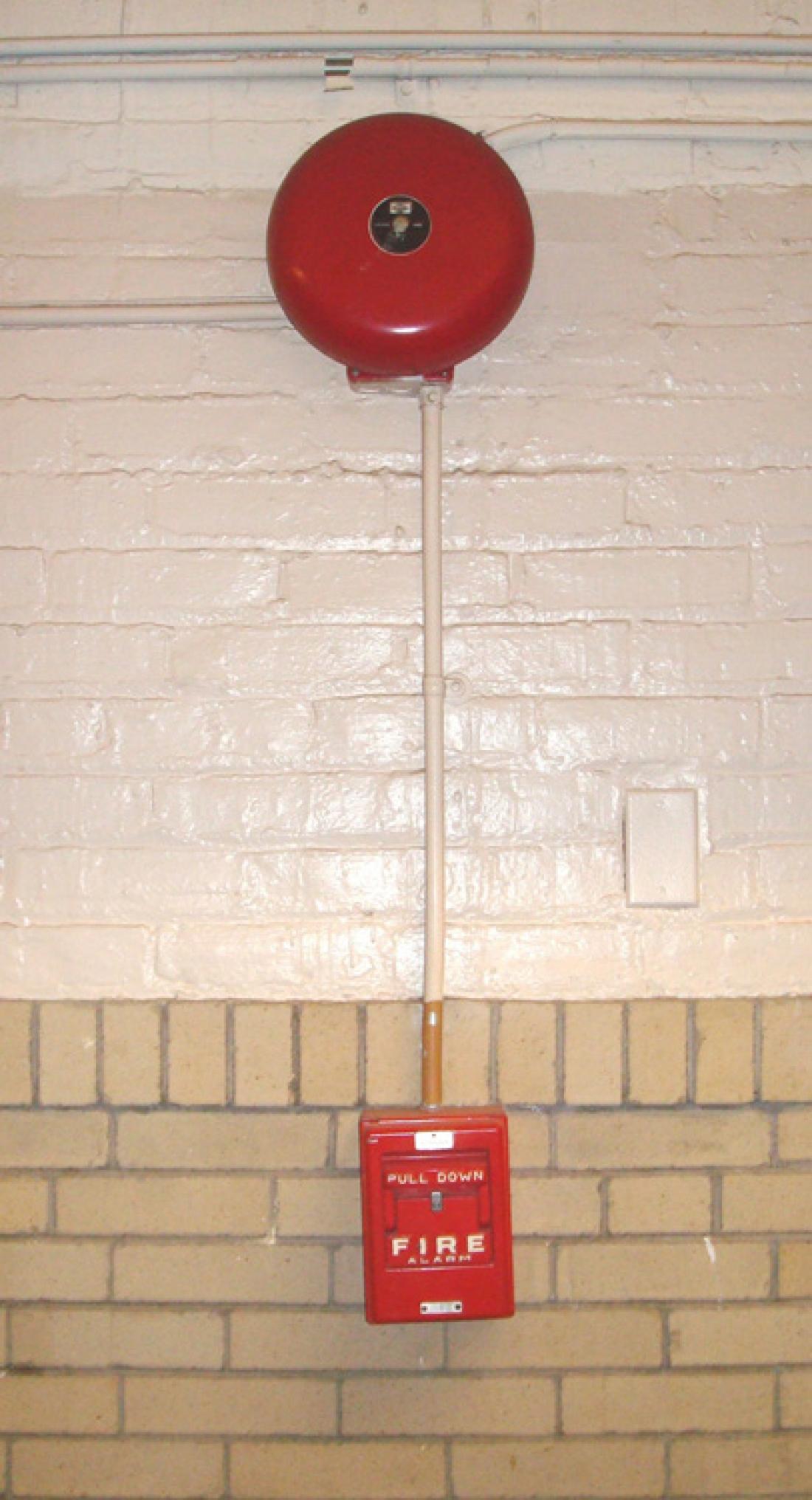 Vintage Security Alarm System