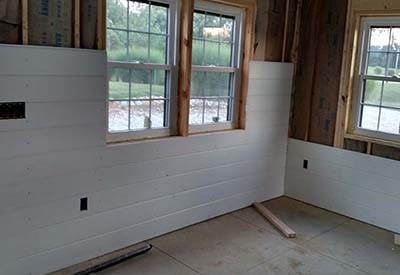 Shiplap Vs  Drywall   4 Great Reasons To Use Shiplap In Your Home shiplap vs  drywall Shiplap installs