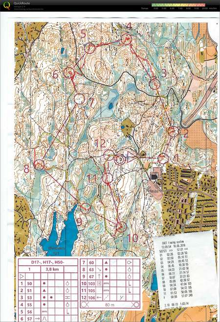 Klubbmesterskap M    ren 2018   June 10th 2018   Orienteering Map from     Klubbmesterskap M    ren 2018   June 10th 2018   Orienteering Map from Lars  Petter Endresen