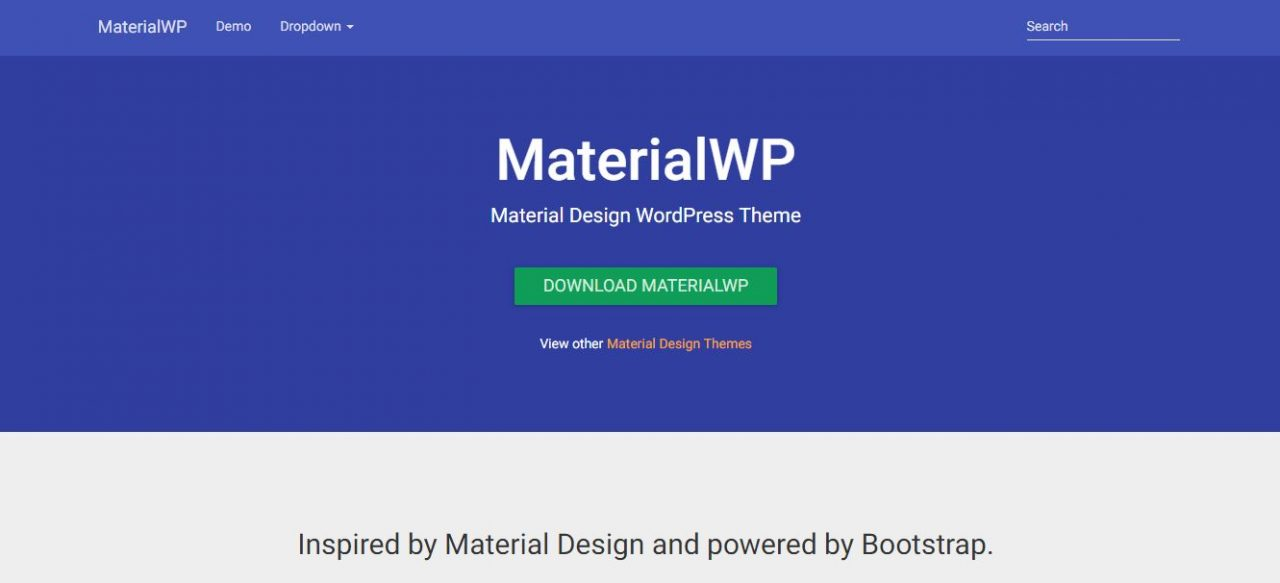 15+ Free Material Design WordPress Themes 2019