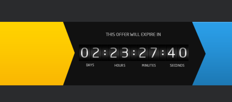 Colorful Countdown Timer