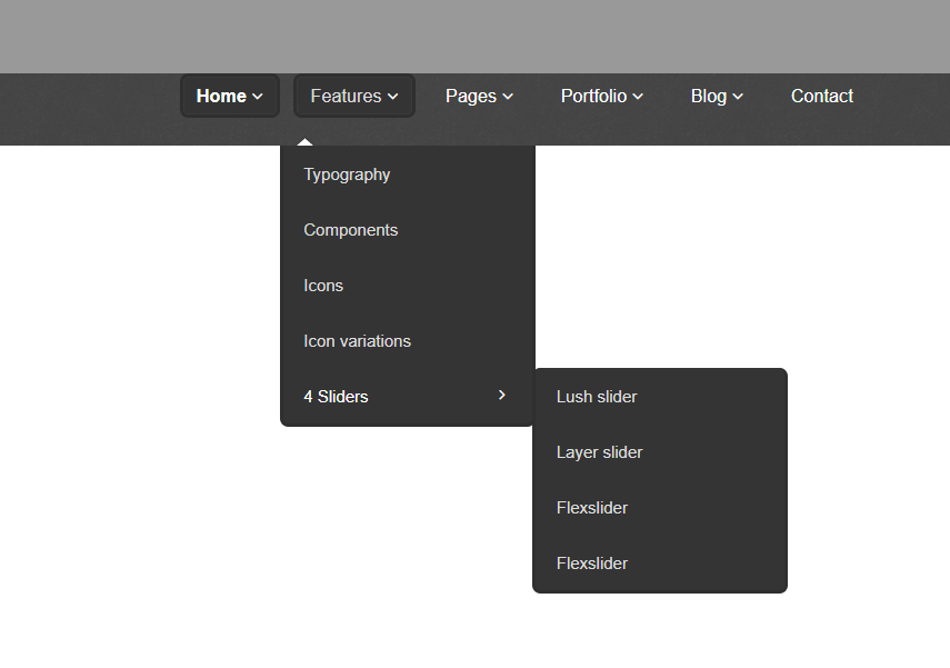 Responsive Drop Down Navigation Menu with jQuery CSS3