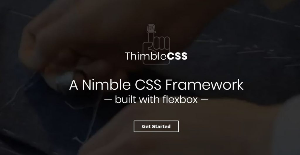 Thimble CSS - A Nimble CSS Framework built with flexbox