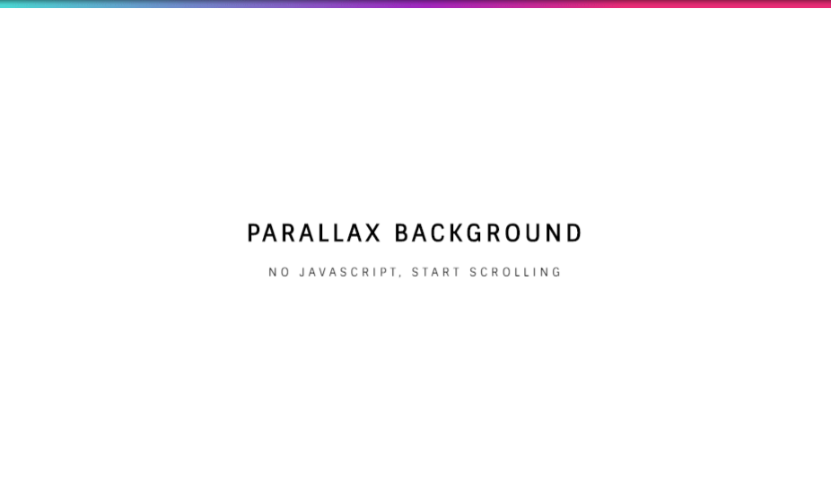 Parallax Example Background