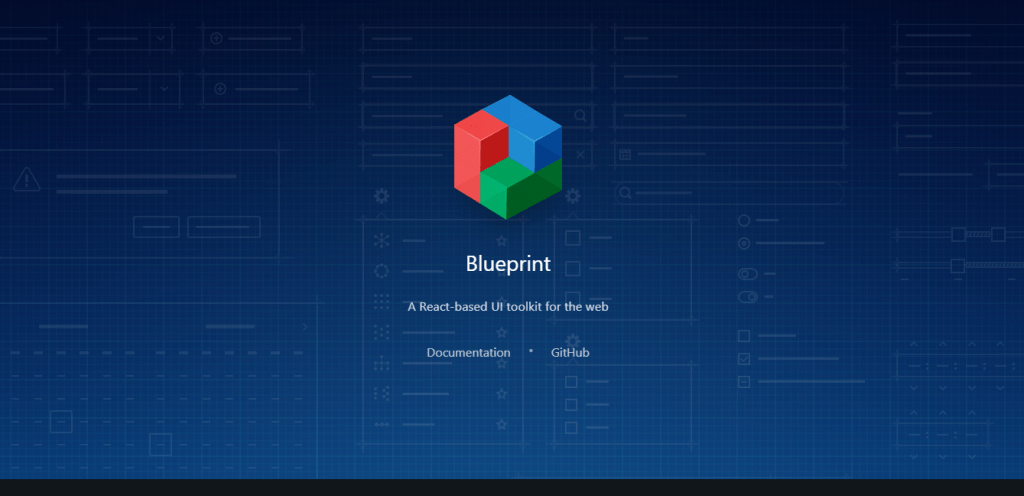 Blueprint - React UI Component Libraries and Framework
