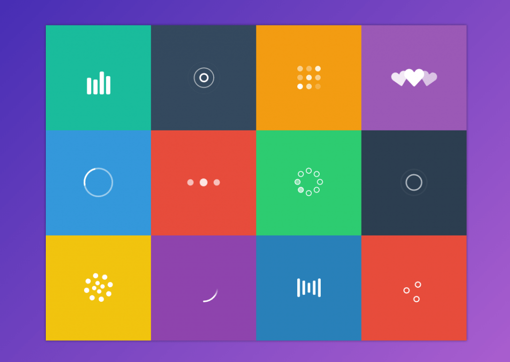 Material Design SVG Loader