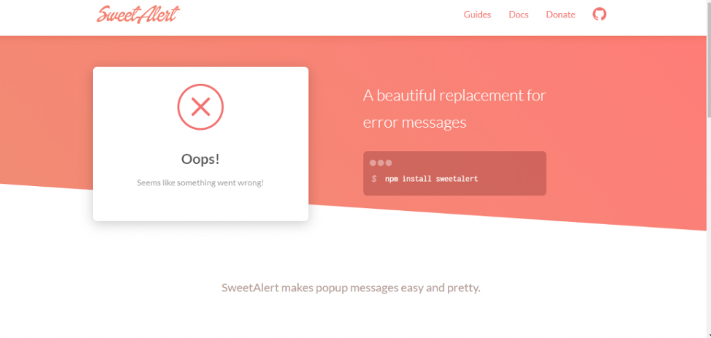 15+ Awesome JavaScript Alert Box Code Snippet - OnAirCode