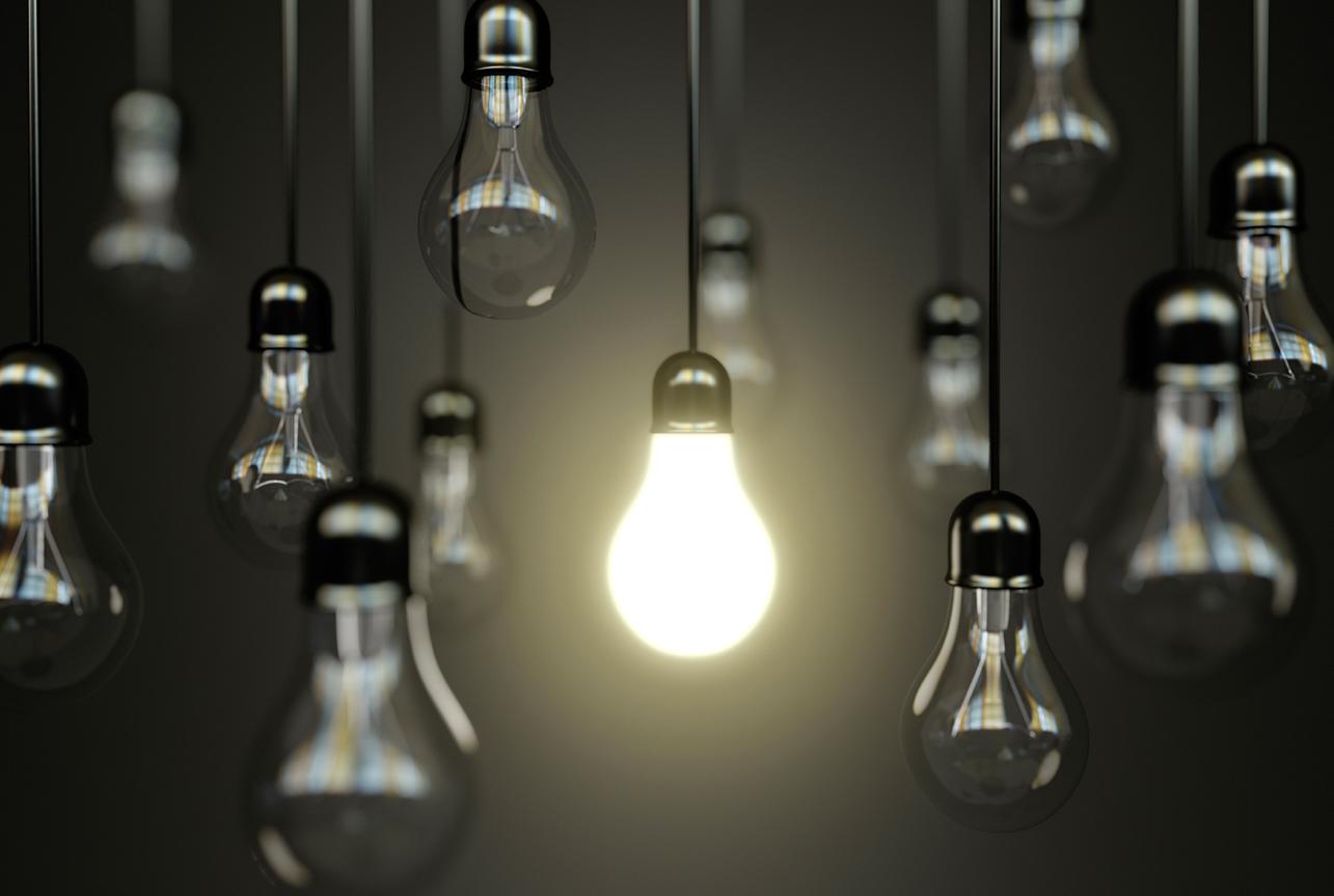 Idea Light Bulb Graphic