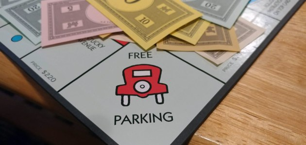Stop All the Monopoly Hate  a Public Service Announcement   One     The  free parking  rule  When I first started playing as a kid  any time  someone was supposed to pay money and it wasn t too a player  they would  throw it