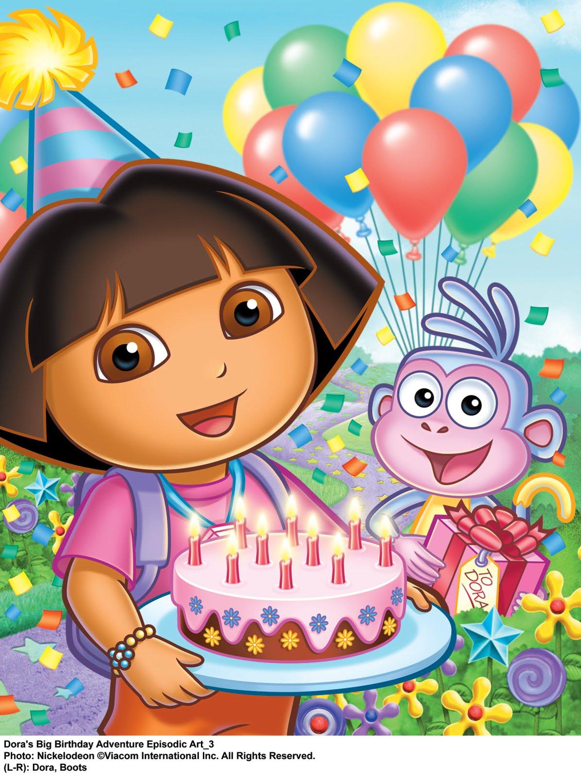 Tune In For Quot Dora S Big Birthday Adventure Tonight At 8pm