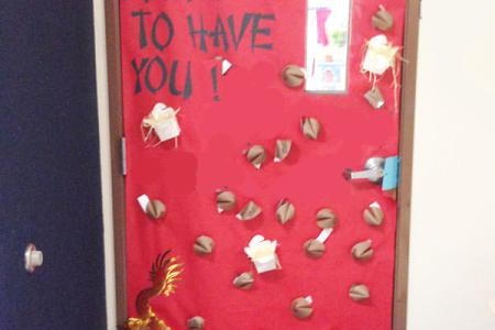 Teacher Appreciation Ideas for Door Decorating   onecreativemommy com We re Fortunate to Have You for Our Teacher   10 Teacher Appreciation Ideas