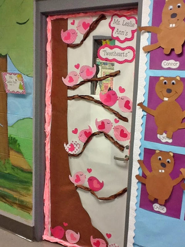 Valentines Day Preschool Door Decorations