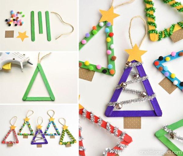 christmas ornaments popsicle sticks # 28