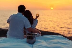 Tempo de exploração romântico