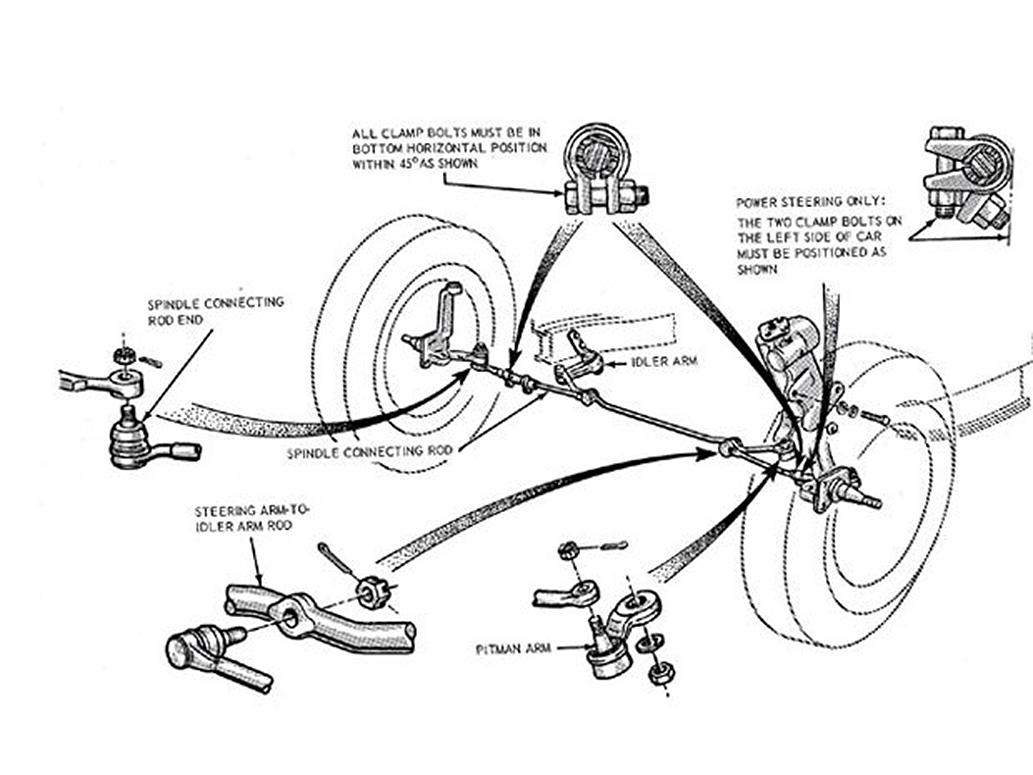 Steering suspension diagrams one man and his mustang rh onemanandhismustang 1965 mustang front suspension conversion