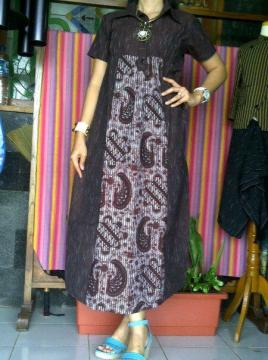 Lurik Long Dress Lasem