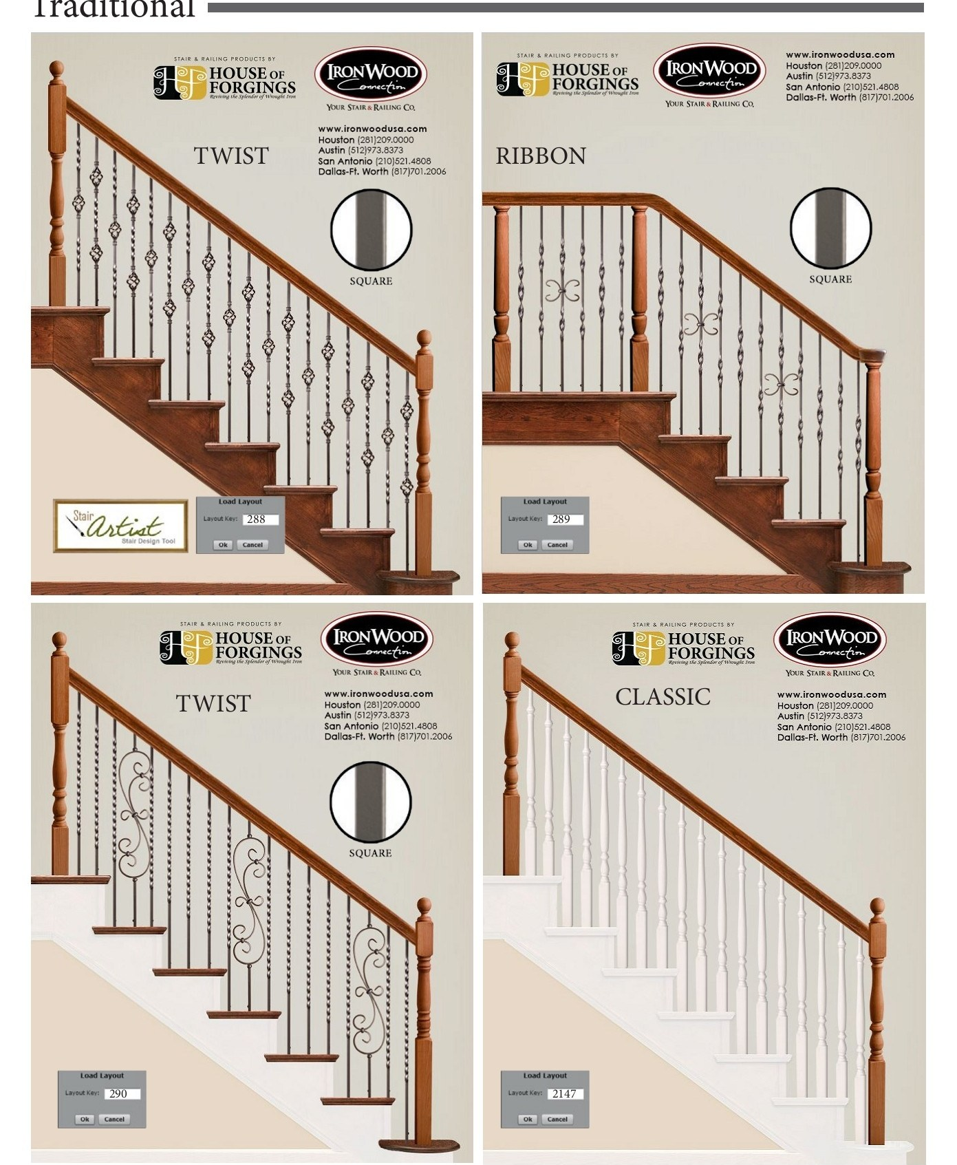 Popular Iron Baluster Patterns By Style Pages 1 15 Text | House Of Forgings Aalto | Stair Parts | Aalto Modern | Aalto Collection | Wrought Iron Baluster | Handrail