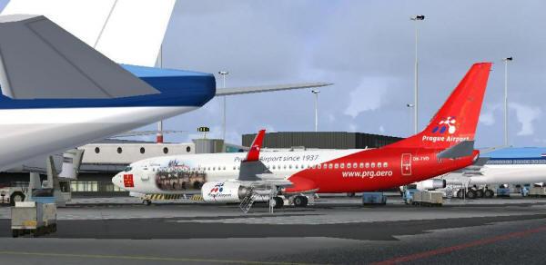 Aft Boeing 737 Door Cargo