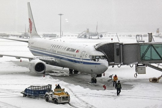 Beijing Rings in the New Year with Extreme Weather   China Real Time     Associated Press  Most of Sunday s flights to and from the Chinese capital  were canceled