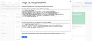 online marketing GTM google tag manager
