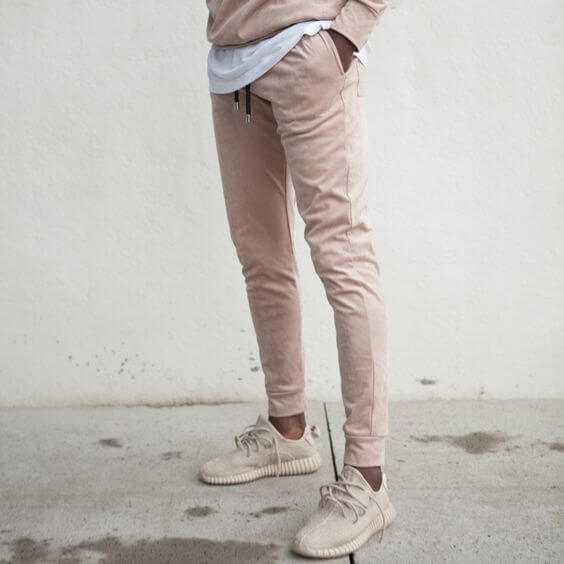 Mens Light Blue Skinny Jeans