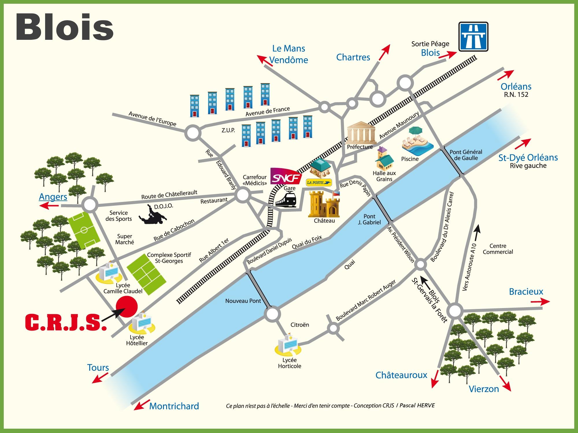 Printable Map Germany
