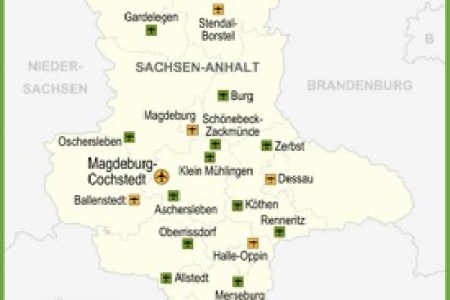 interior saxony anhalt germany map » Full HD MAPS Locations ...