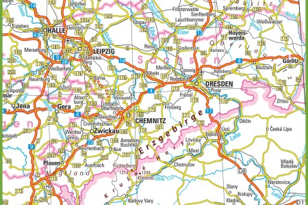 map saxony germany » Free Wallpaper for MAPS | Full Maps