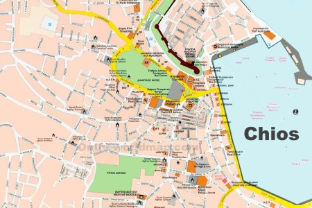 tourist map of corfu town » Path Decorations Pictures | Full Path ...