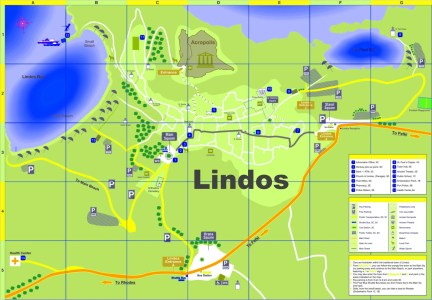 lindos karta kassandra tourist map » Full HD MAPS Locations   Another World  lindos karta