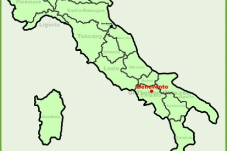 benevento italy map » Full HD MAPS Locations - Another World ...