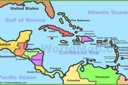 caribbean sea map » ..:: Edi Maps ::.. | Full HD Maps