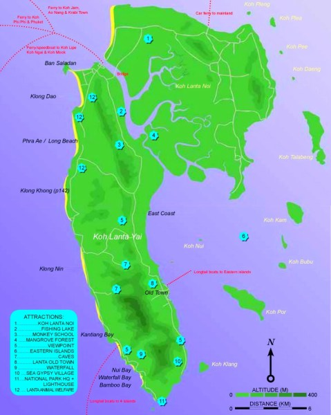 koh chang tourist attractions map » Another Maps [Get Maps on HD ...