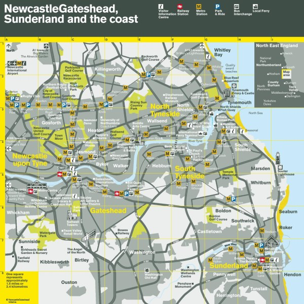 sunderland transport map » Full HD MAPS Locations - Another World ...