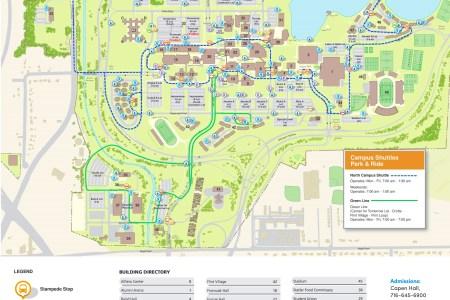 Ub Campus Map. Ub South Campus, Ub On Campus Housing, Ub Campus ...