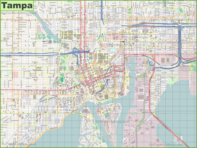 Full hd pictures 4k ultra large detailed of tampa map full florida map ebay vintage florida map florida road maps statewide and regional central florida road map personalized large detailed multi panel world map gumiabroncs Gallery