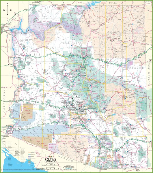 large detailed of louisiana with cities and towns map » [HD Images ...
