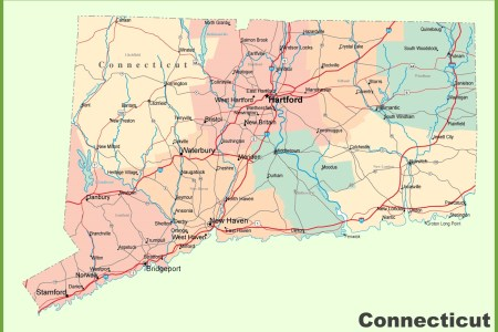 map connecticut » Free Wallpaper for MAPS | Full Maps